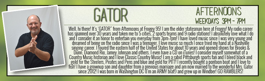 ON AIR STAFF - GATOR