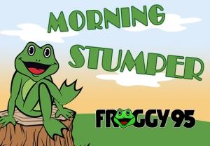 morning stumper