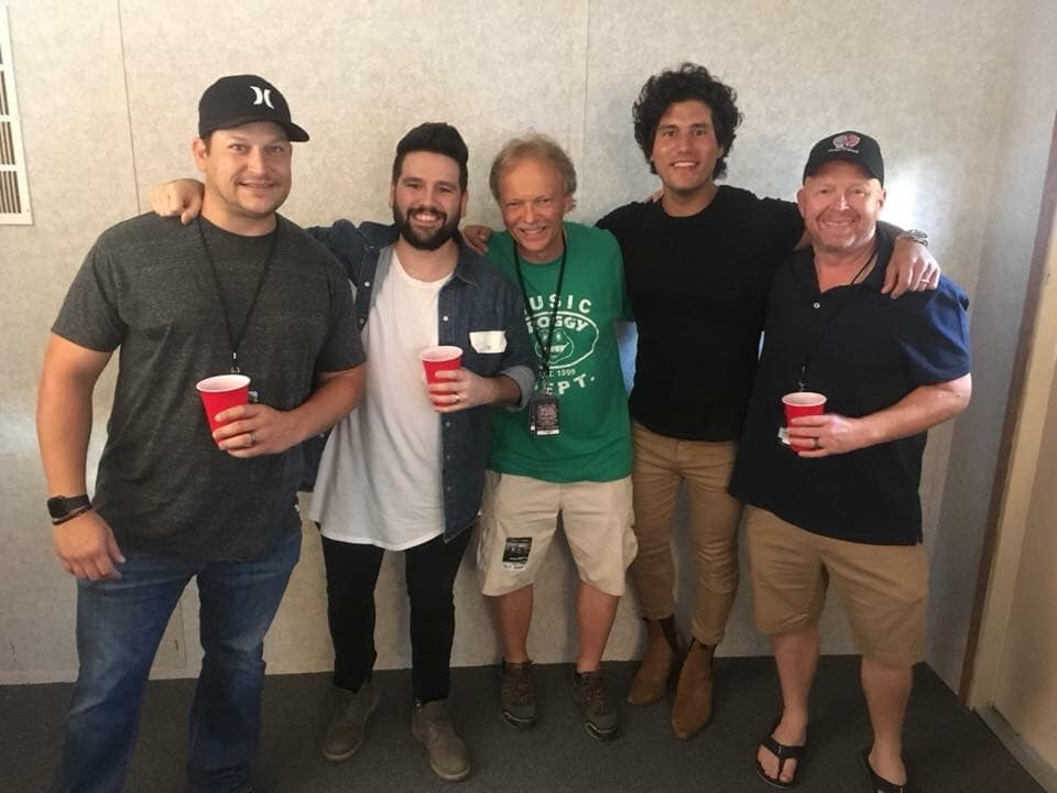 Dan + Shay with Froggy Crew