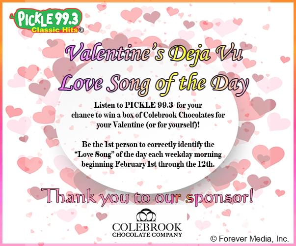 Valentine's Day Deja Vu Song of the Day