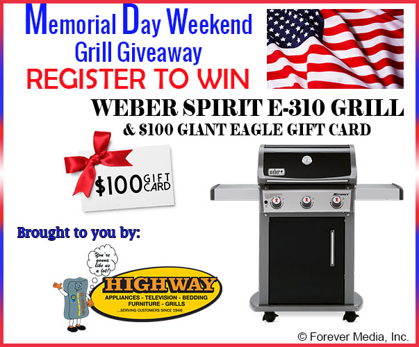 Memorial Day Weekend Grill Giveaway 2021