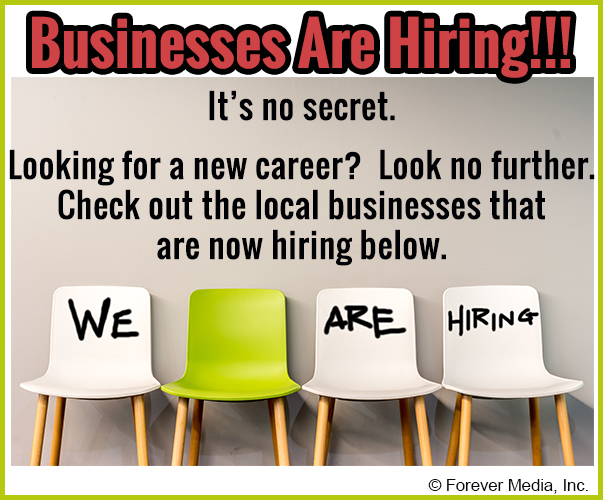 Businesses Are Hiring