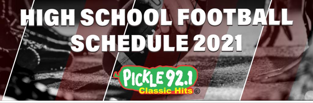 Pickle High School Football Schedule