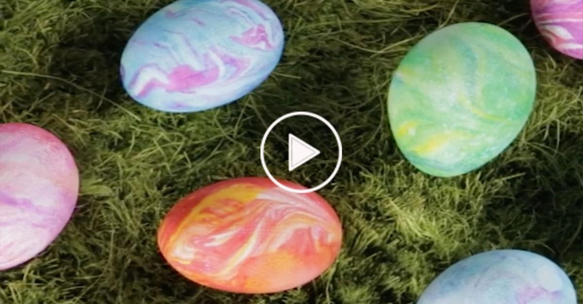 Fun Shaving Cream Easter Egg Hack