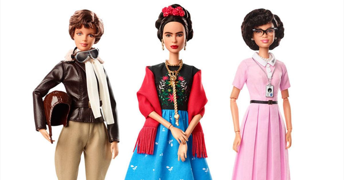 Historic Women Are Being Made Into Barbies