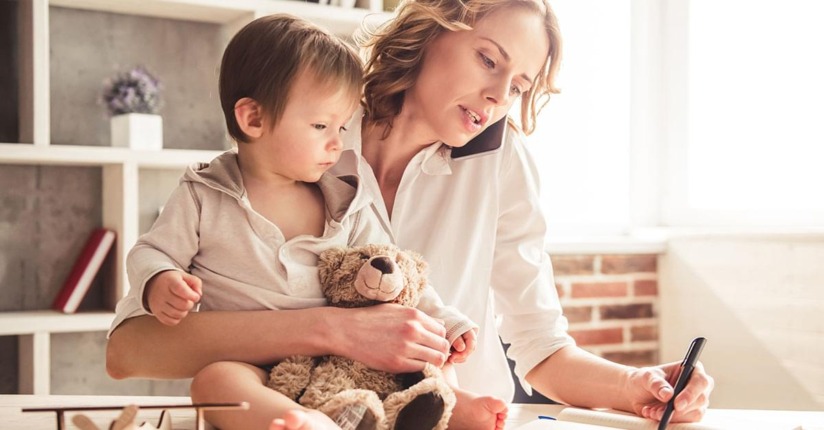 Study Shows Moms only Get an Hour to Themselves a Day!
