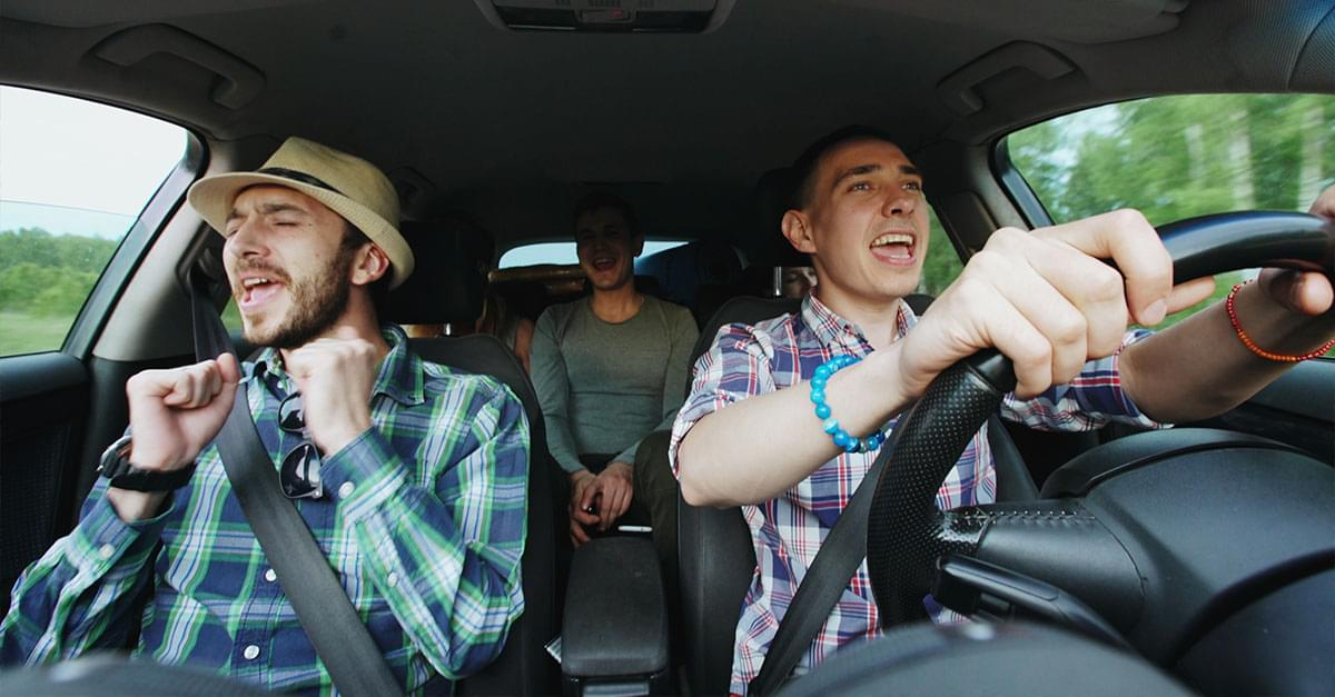 TOP 25 IN-CAR SING-A-LONG SONGS OF ALL TIME