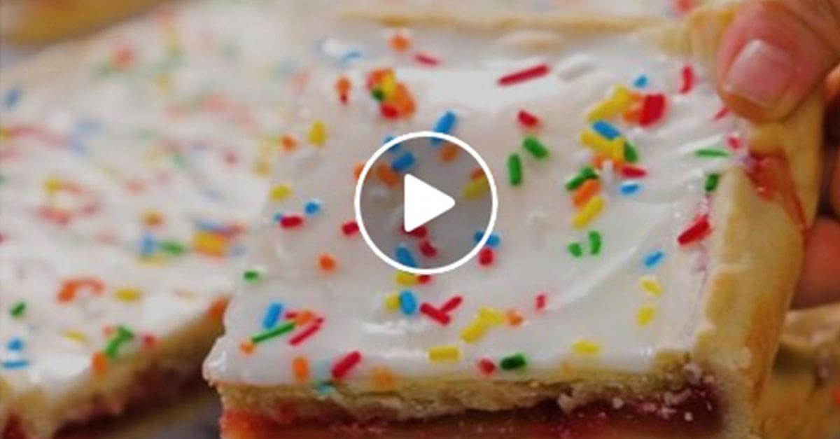Watch: How to Make Your Own Pop-Tarts