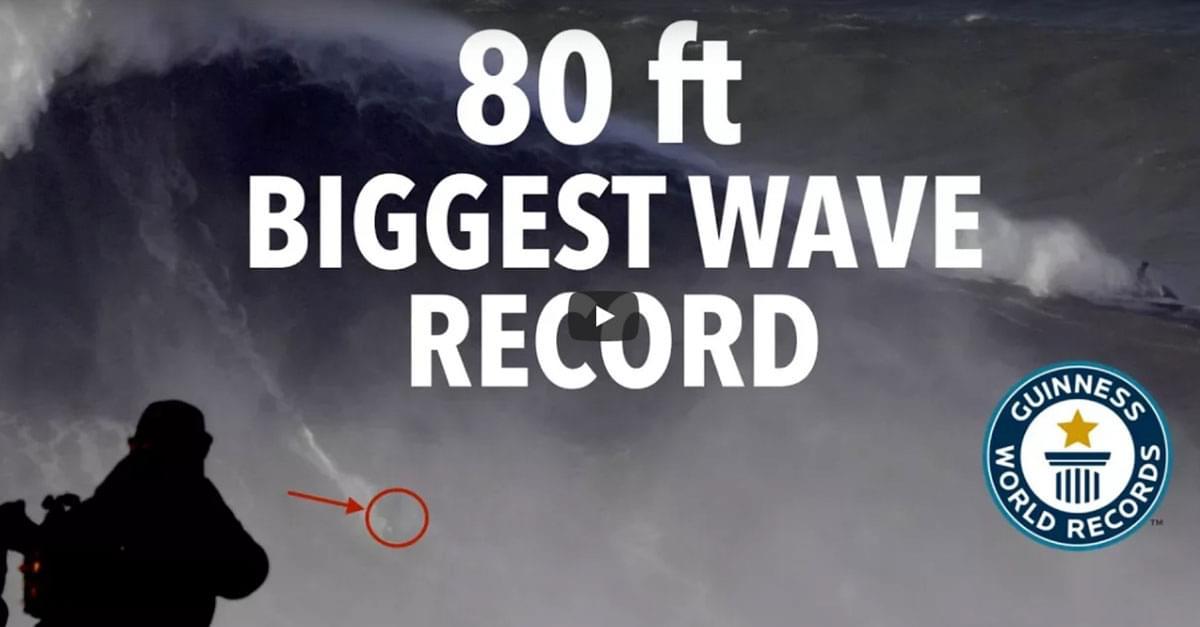 Watch: Rodrigo Koxa Breaks World Record Surfing 80-Foot Wave