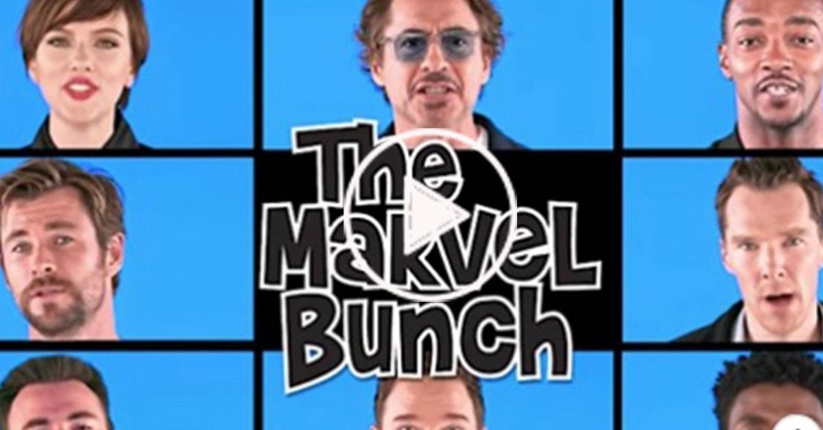 Watch: 'Avengers' does a 'Brady Bunch' Singalong