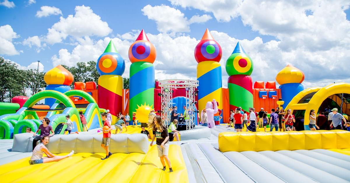 Giant Bounce House Coming to Raleigh!