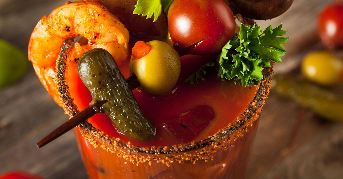 Watch: The Making of a 10-Pound Bloody Mary