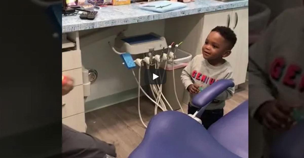 Watch: Part Magician Part Dentist!