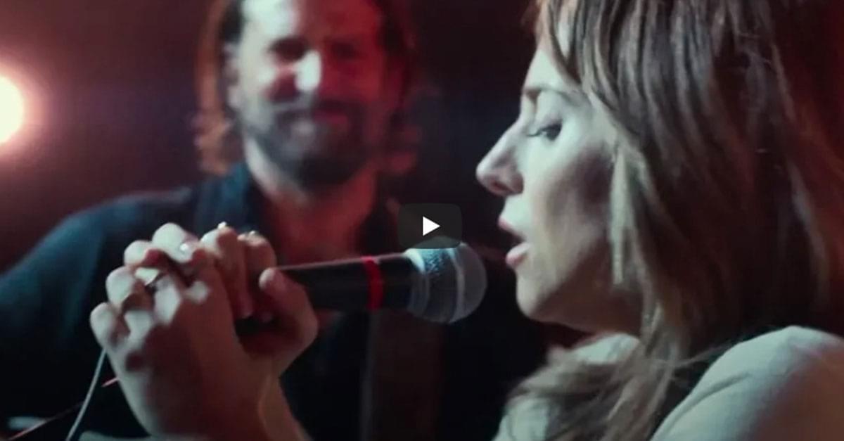 Watch: Bradley Cooper & Lady Gaga in 'A Star is Born'