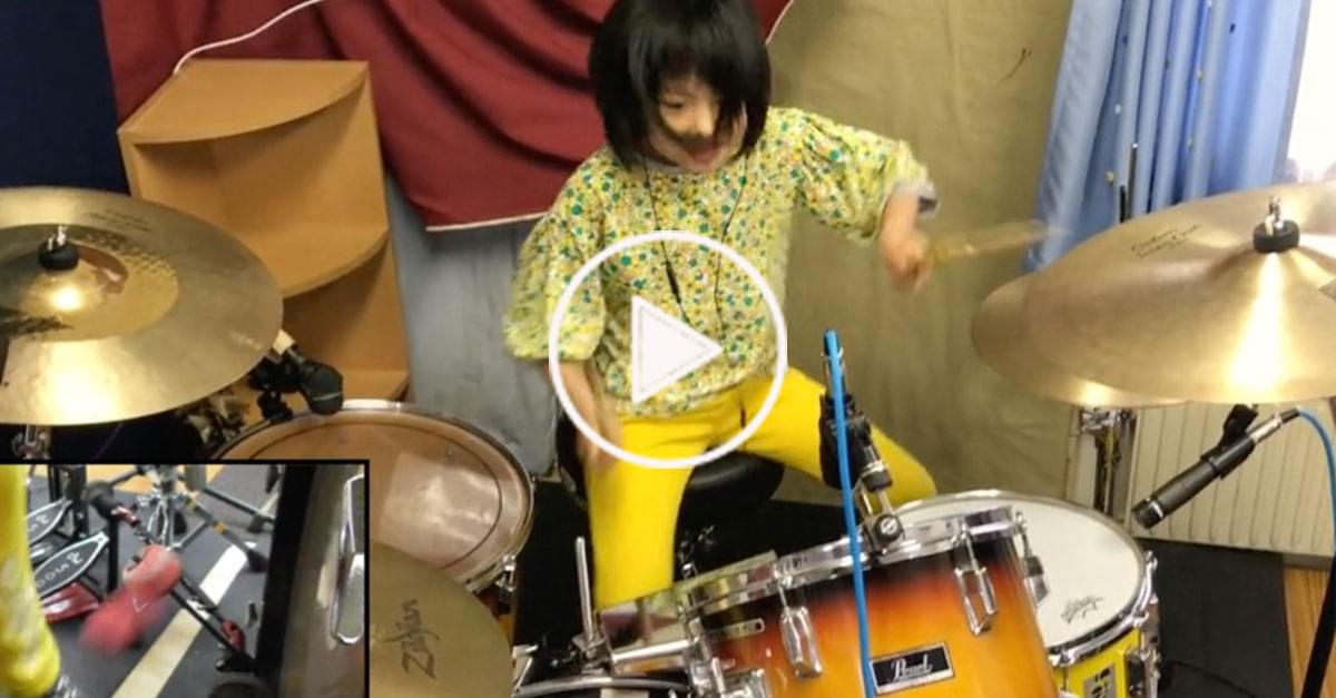 Watch: 8-Year-Old Drummer Covers Led Zeppelin