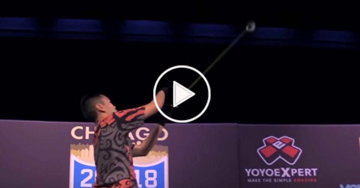 Watch: Yo-Yo Champ Wins Again with Incredible Routine