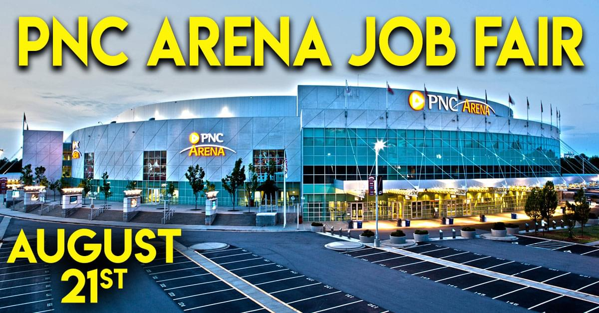 Looking for a New Job? Don't Miss the PNC Arena Job Fair