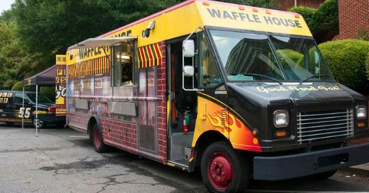 Waffle House Debuts New Food Truck