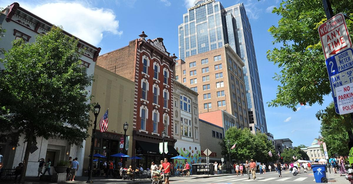 Fayetteville Street in Raleigh named one of 15 Great Places