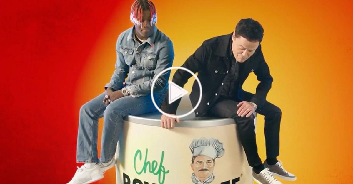 Watch: Lil Yachty & Donny Osmond Team Up For Ode to Chef Boyardee