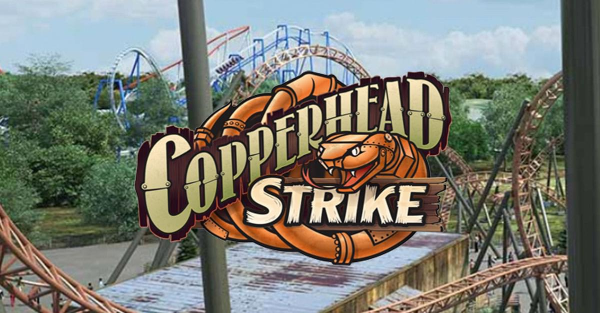 "Carowinds Announces New Roller Coaster ""Copperhead Strike'"