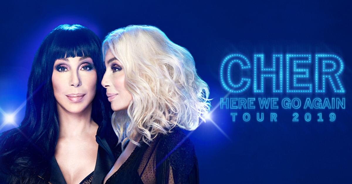 Cher announces 'HERE WE GO AGAIN TOUR' Coming to Raleigh!