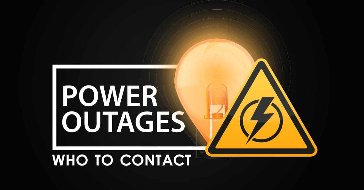Power Outages: Who to Contact