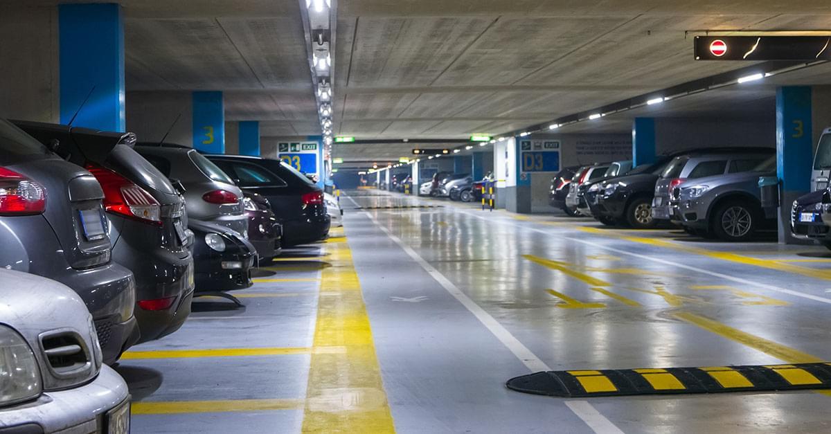 Parking Decks Open During Hurricane Florence