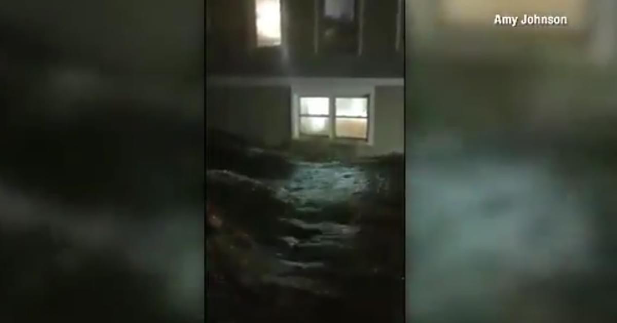 WATCH: Hurricane Florence causes flooding across NC Coast