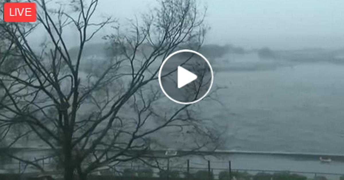 LIVE: Watch as Hurricane Florence passes through Wilmington