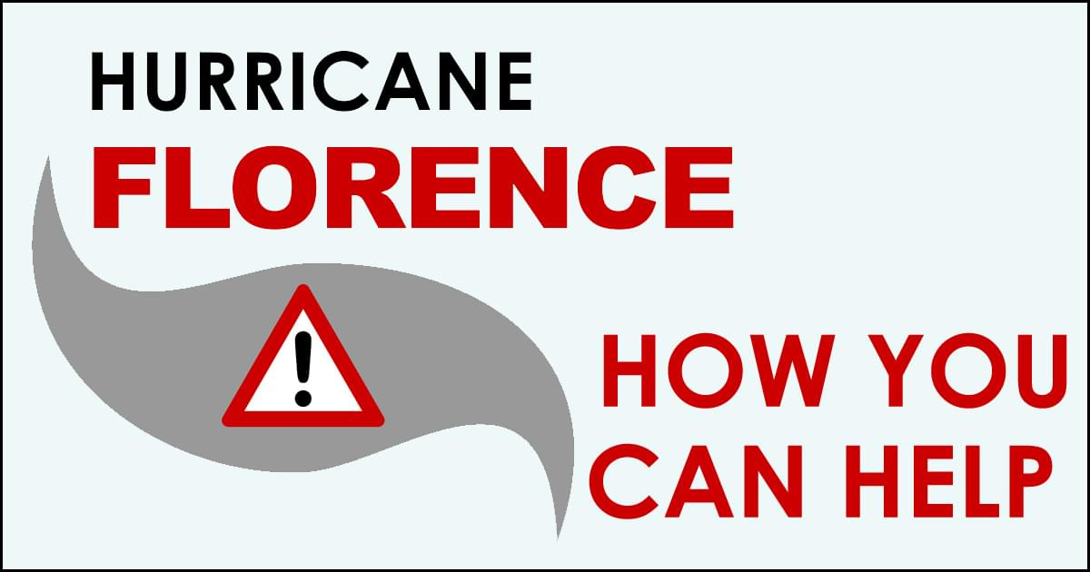 Hurricane Florence: How To Help