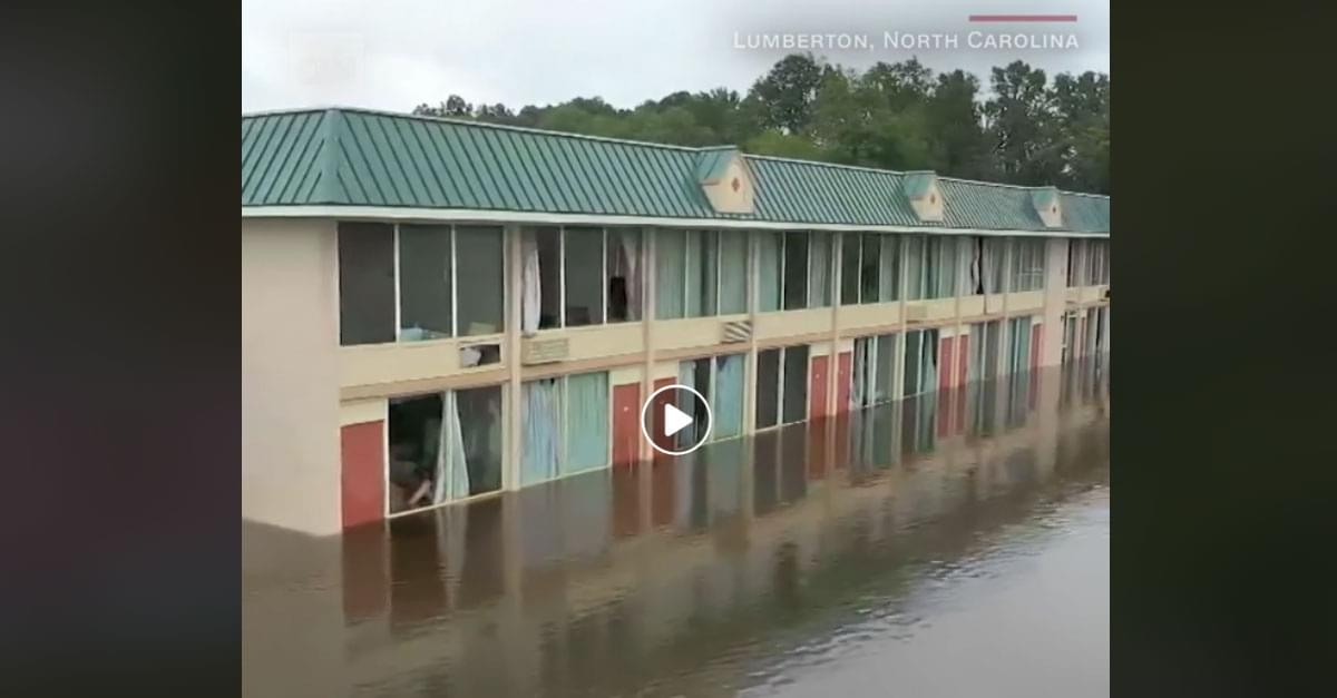 Pics and Video: Flood Waters Rise Across the Carolinas