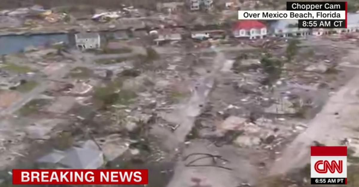 WATCH: Aerial View of Hurricane Michael Destruction in Florida