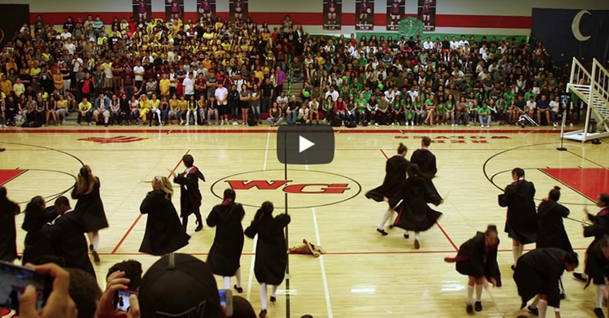 WATCH: Amazing High School Harry Potter Dance Routine