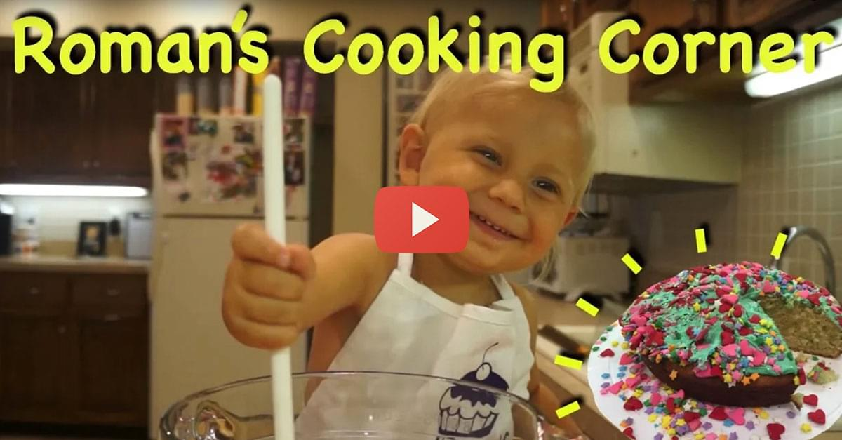 So Cute! Meet the Internet's Favorite 2-Year-Old Chef