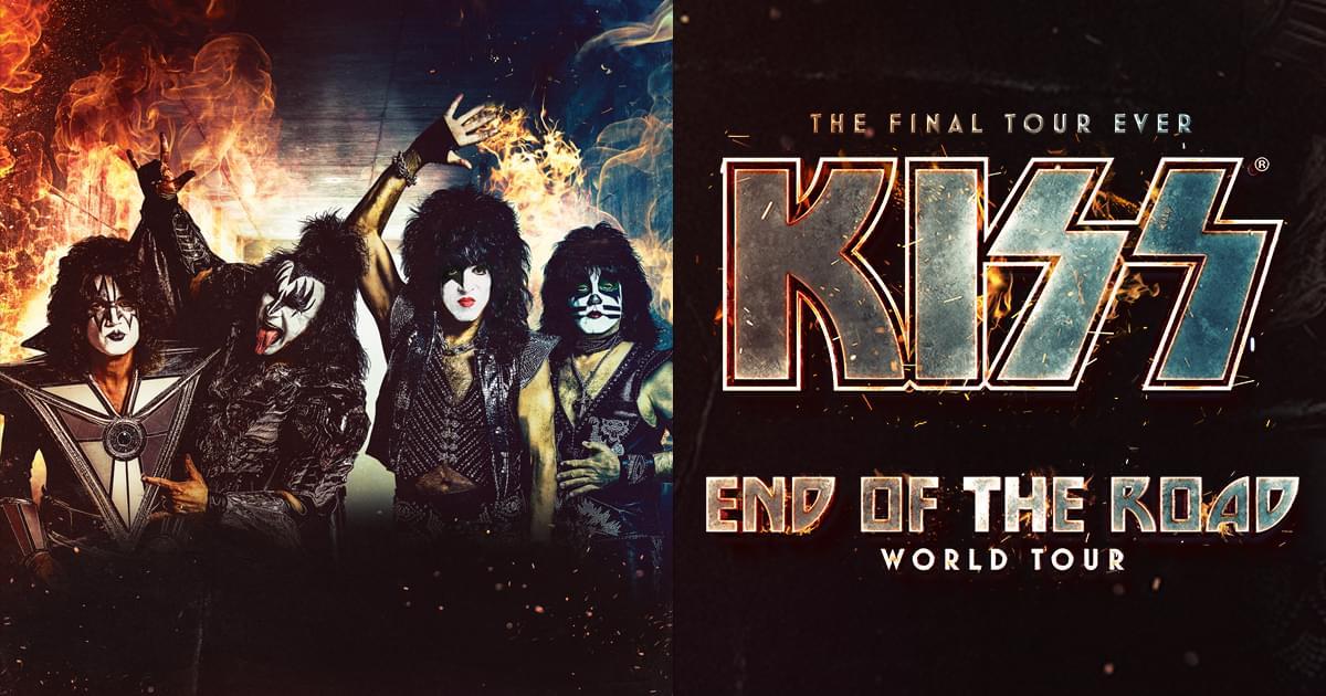 KISS Announces End of the Road Tour