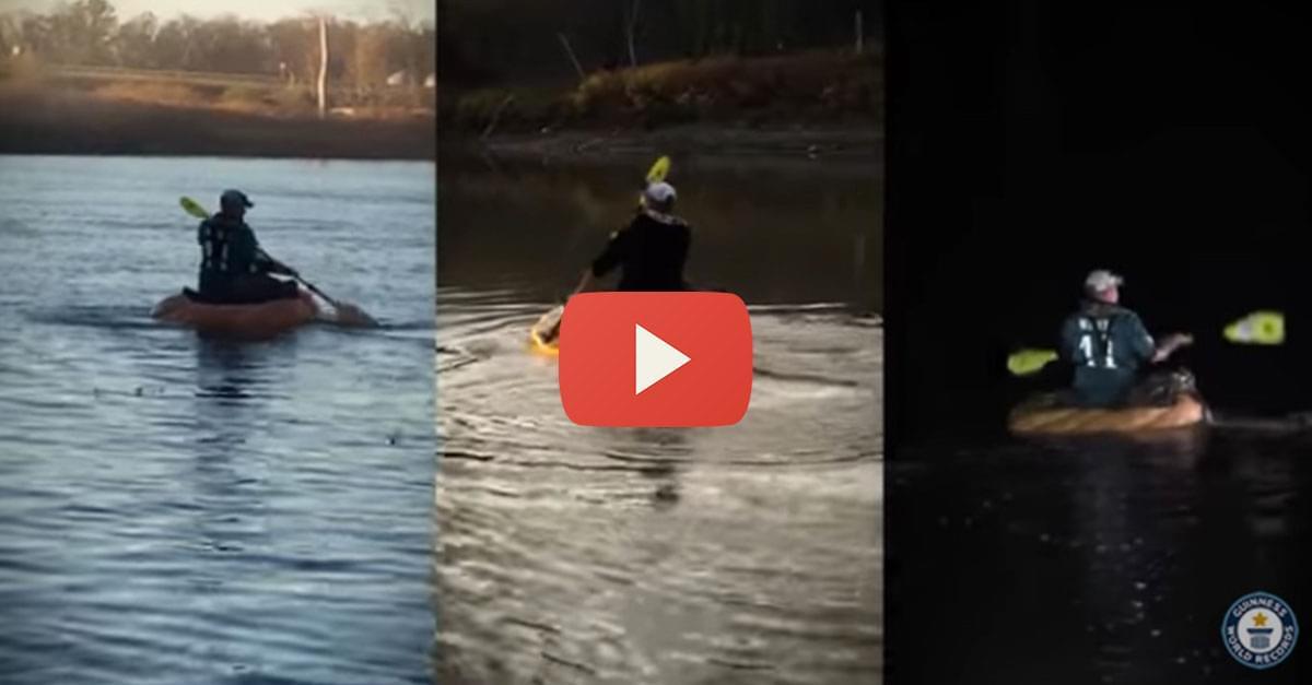 Man Creates Pumpkin Boat, Sets New Record