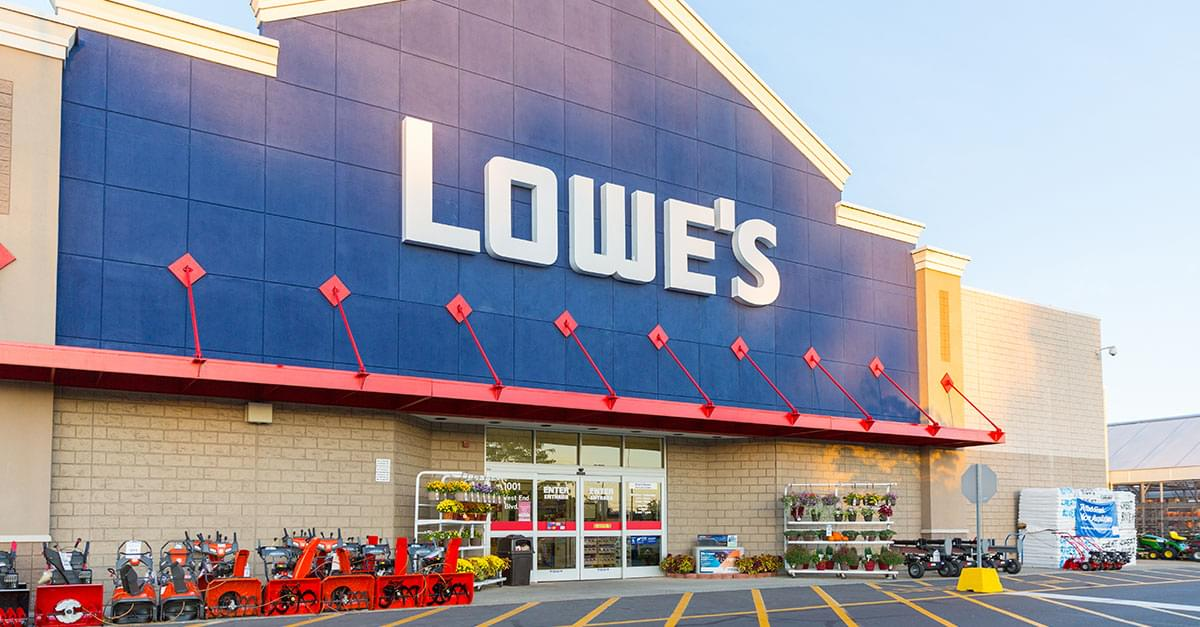 Lowe's Closing 51 stores in US & Canada