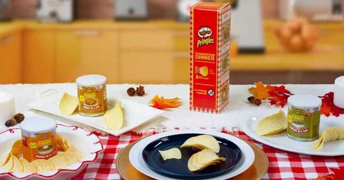 Pringles Releases Thanksgiving Dinner Flavors