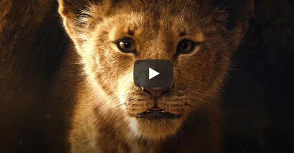 Watch: 'The Lion King' Live Action Trailer Released