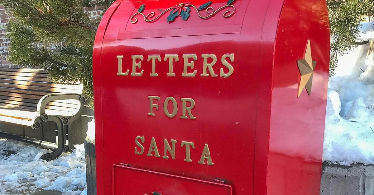 Santa's Mailbox is Back in Wake Forest!