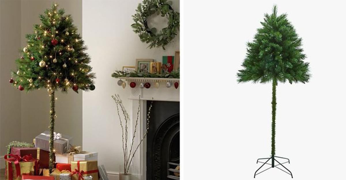 Outsmart Your Pets with a Half Christmas Trees