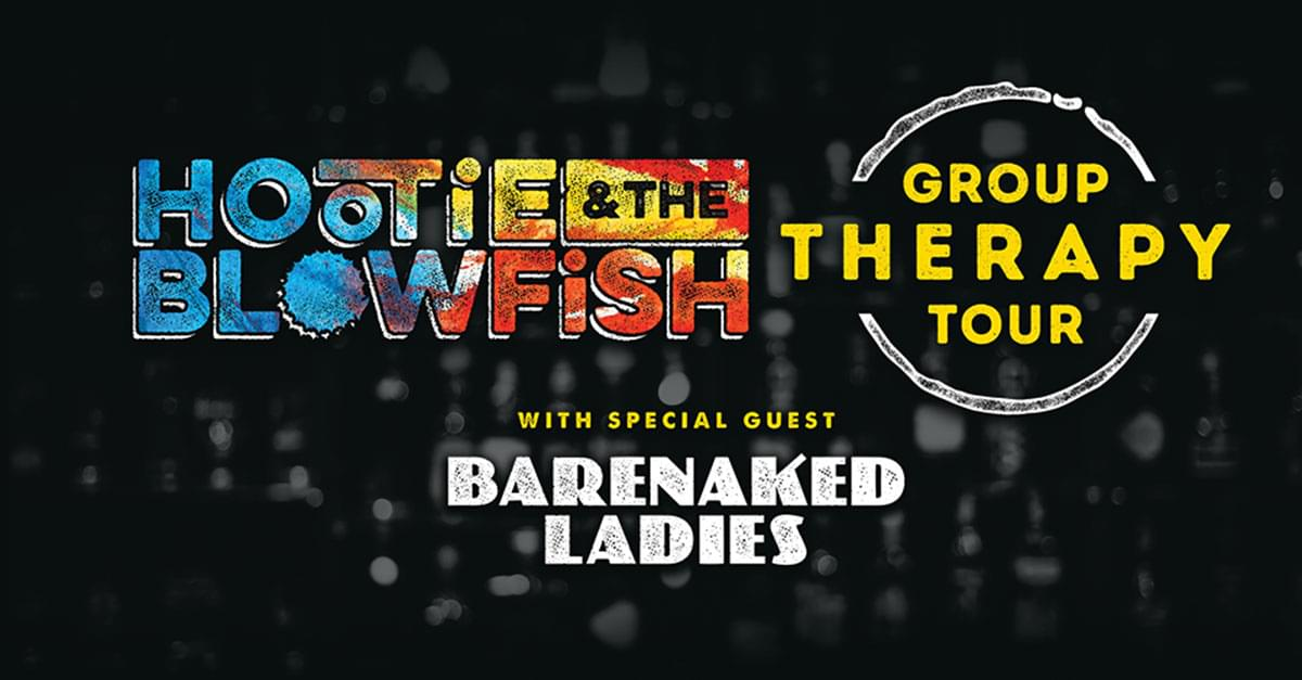Hootie & the Blowfish announce 'Group Therapy Tour' coming to NC!