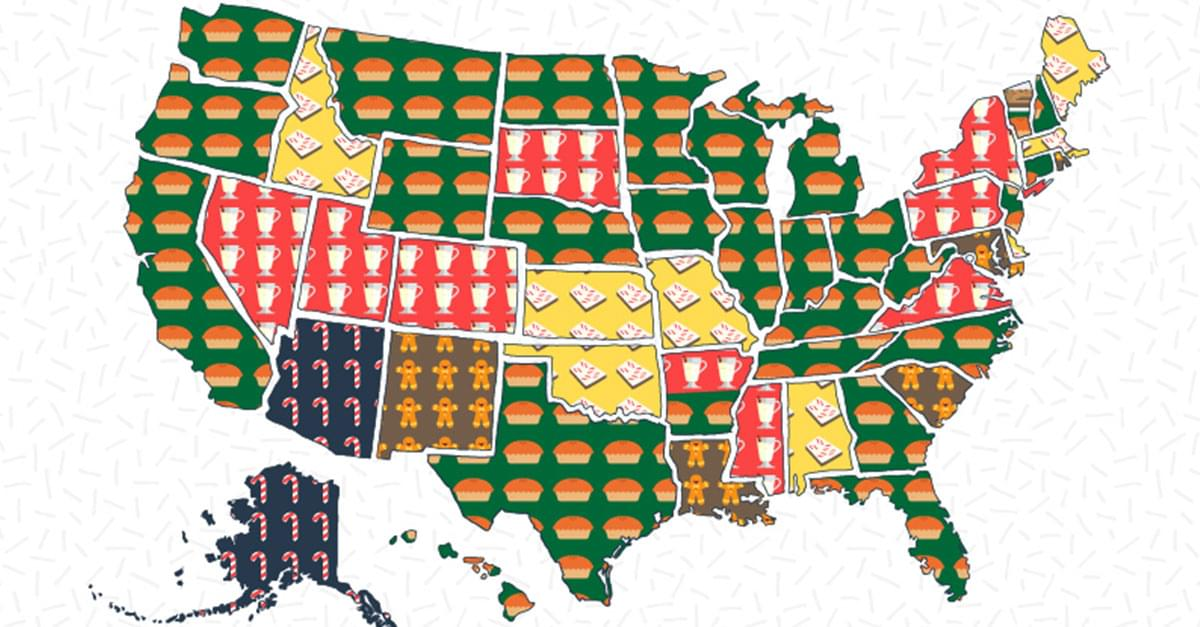 Favorite Holiday Treat by State