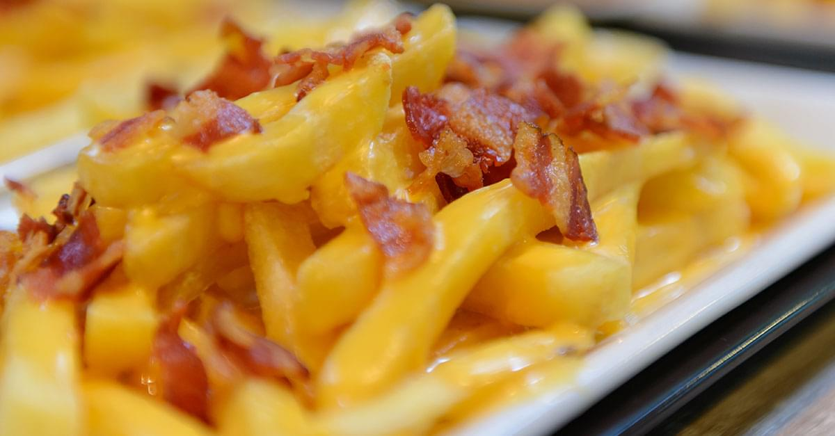 Rumor has it that McDonald's is rolling out its new cheesy bacon fries across the US