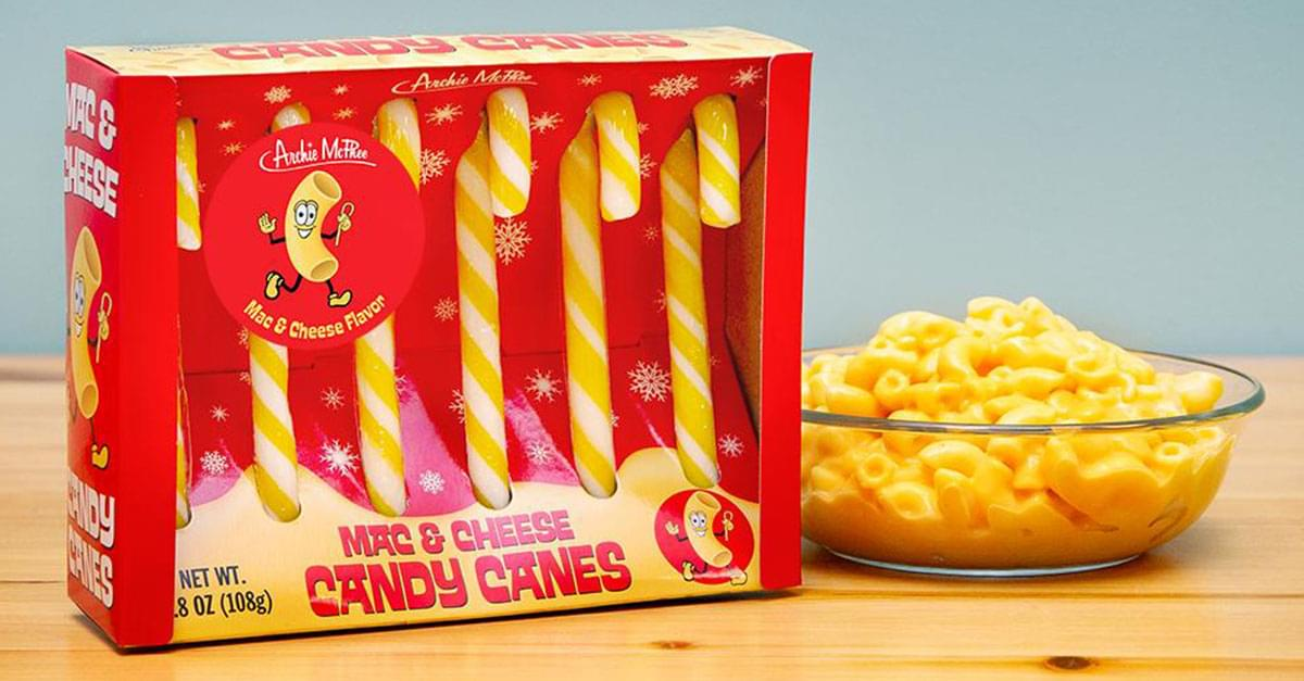 You Can Buy Mac and Cheese Candy Canes This Holiday Season