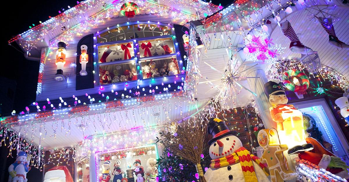 Scientists Reveal How Many Bulbs it Would Take To See Christmas Lights from Space