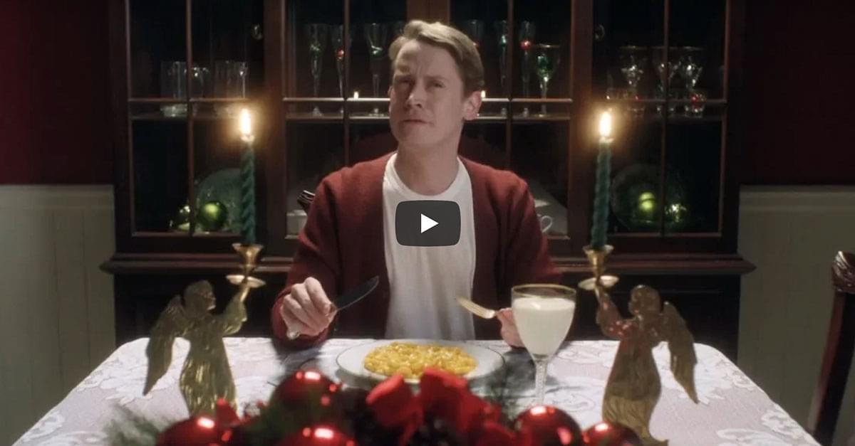 Watch: Macaulay Culkin is Home Alone Again