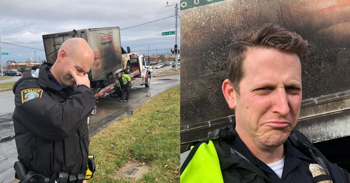 Officers Mourn Krispy Kreme Doughnut Loss