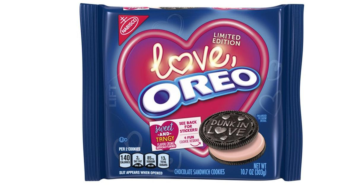 Love Oreo Plans to Replace Boxes of Chocolates this Valentine's Day